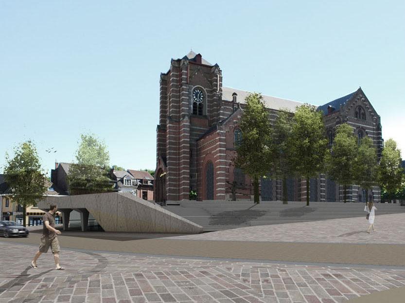 Hoeilaart gemeenteplein - 3D beeld 1-resized2