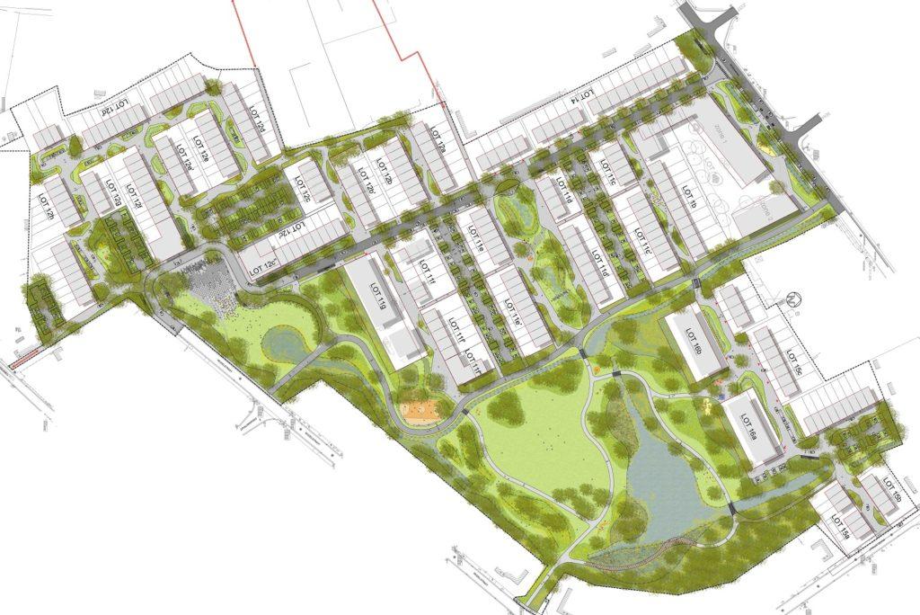 Gent-Wolfput-projectgebied
