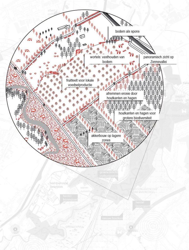 Beeld 10 Structuurtype Coulissenlandschap