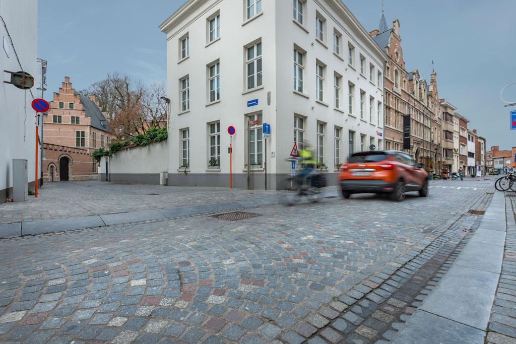 D+A studiebureau Mechelen Stassartstraat verharding