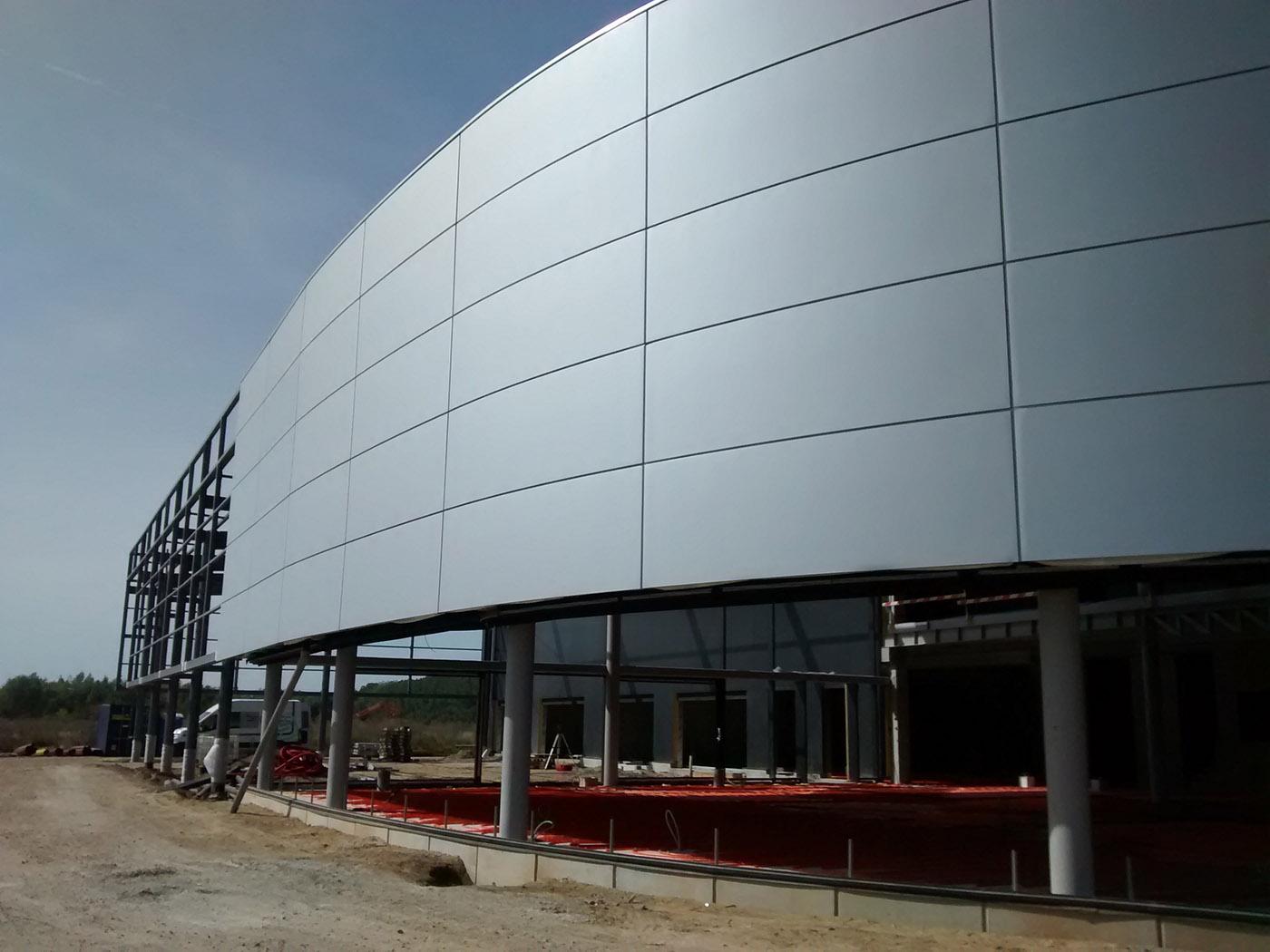 Technisch ontwerp: bedrijfs-en industriegebouwen