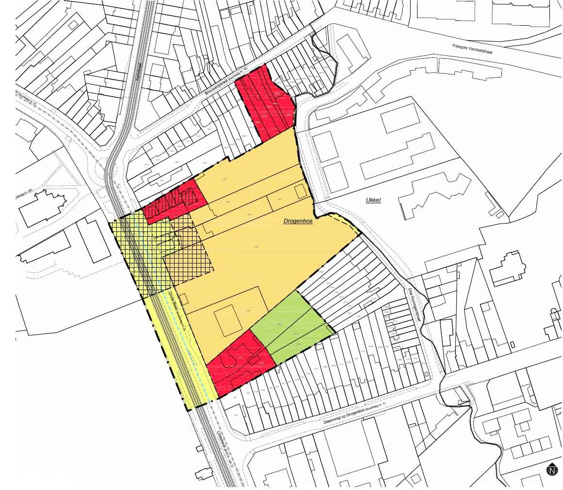 D+A_studiebureau_RP_Drogenbos_RUP_Centrum_grondplan