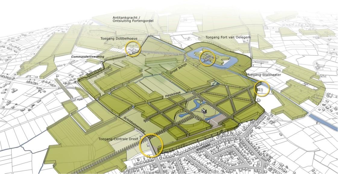 D+A_studiebureau_RP_Provincie-Antwerpen_PRUP Vrieselhof – Fort van Oelegem_structuurvisie