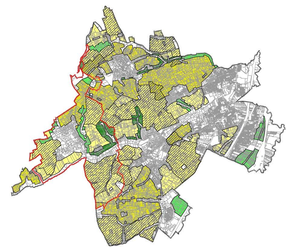 D+A_studiebureau_RP_Sint-Pieters-Leeuw_RUP Open ruimte_grondplan
