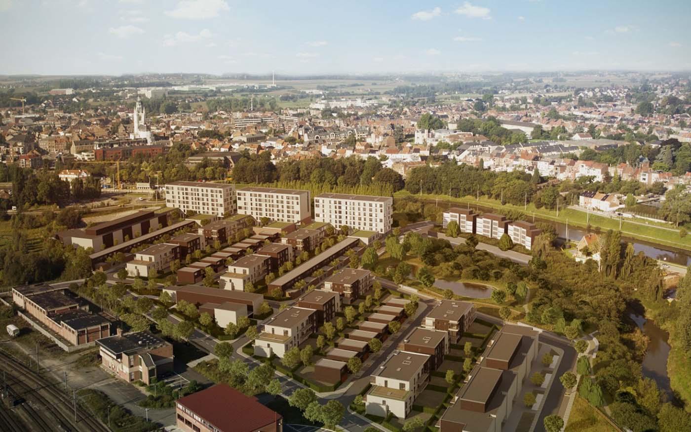Halle – Stadsuitbreidingsproject Nederhem