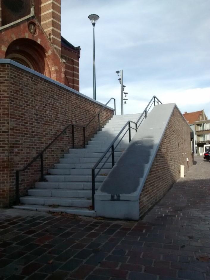 D+A_studiebureau_infra_Hoeilaart_Gemeenteplein_trappen