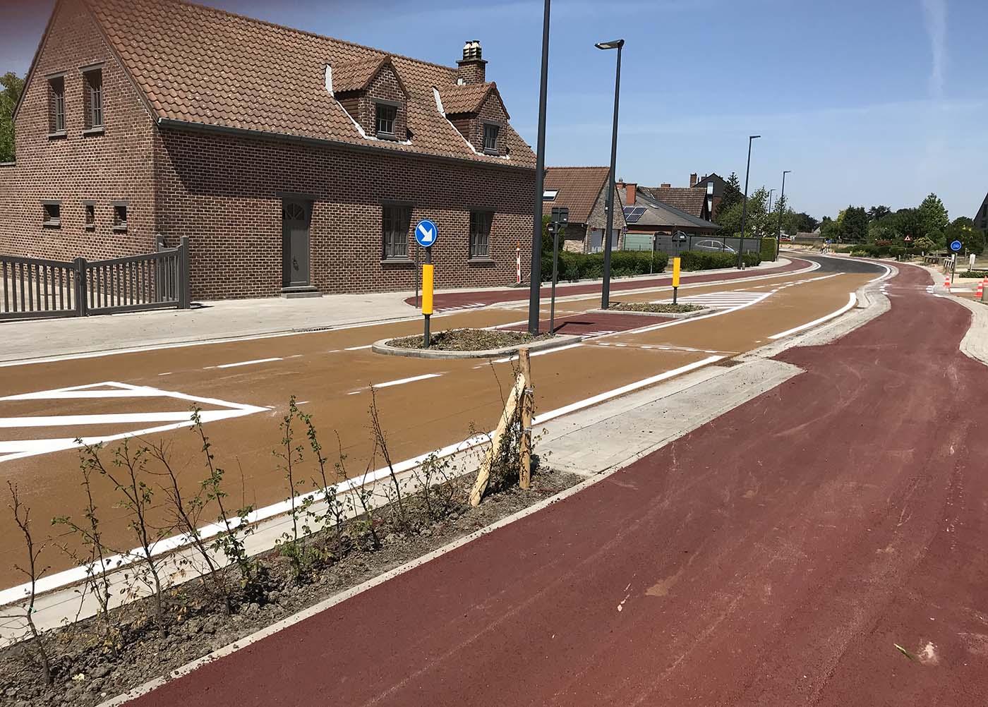 Sint-Pieters-Leeuw – Fietspaden Galgstraat en Pepingsesteenweg